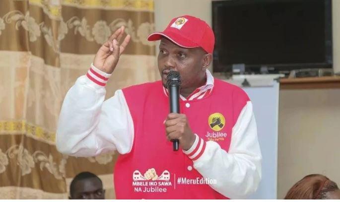 Moses Kuria to unveil 'business communities' during NASA protests to 'help' police officers
