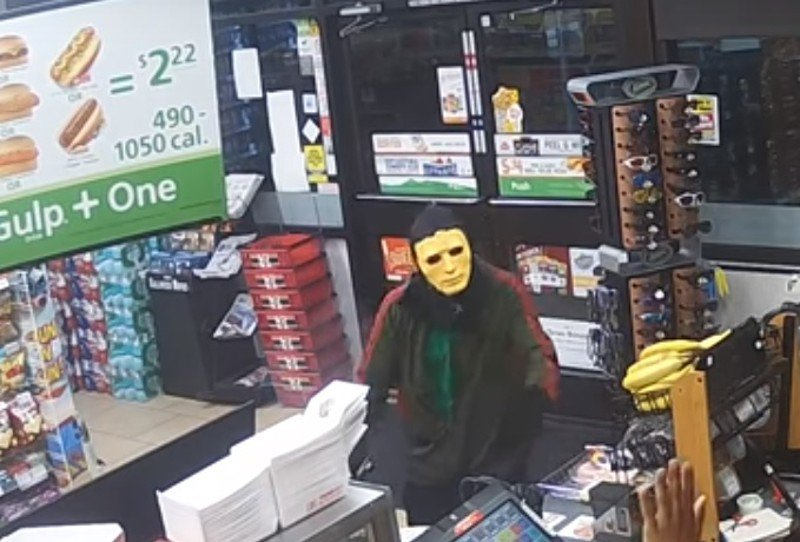 JUST IN: Fourth Austin-area gas station robbed by man in Halloween mask