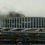Fire erupts at Russian 2018 Fifa World Cup stadium in Nizhny Novgorod