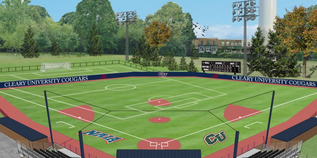 Cleary University to add athletic fields, new dorm