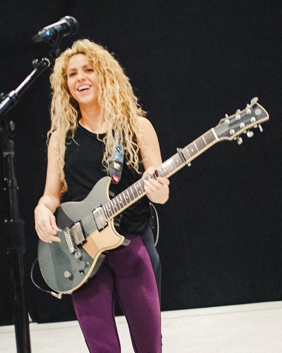 Yes this feels good! Shak #ElDoradoWorldTour #Rehearsals https://t.co/7DmUIqIOt0