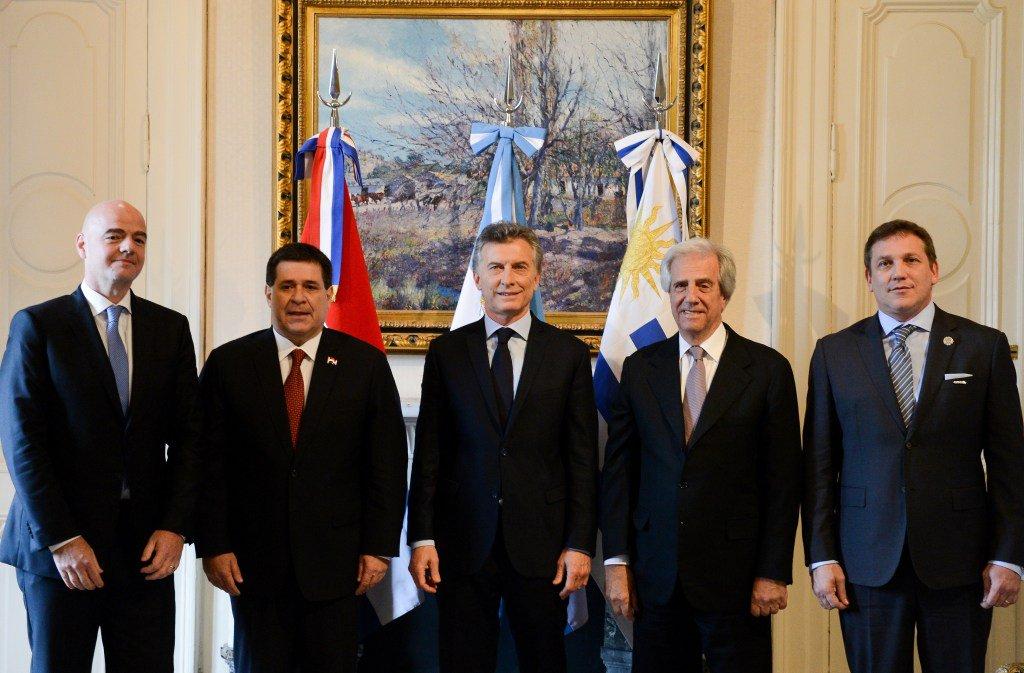 Argentina, Uruguay y Paraguay confirman candidatura al Mundial 2030 - Diario Co Latino
