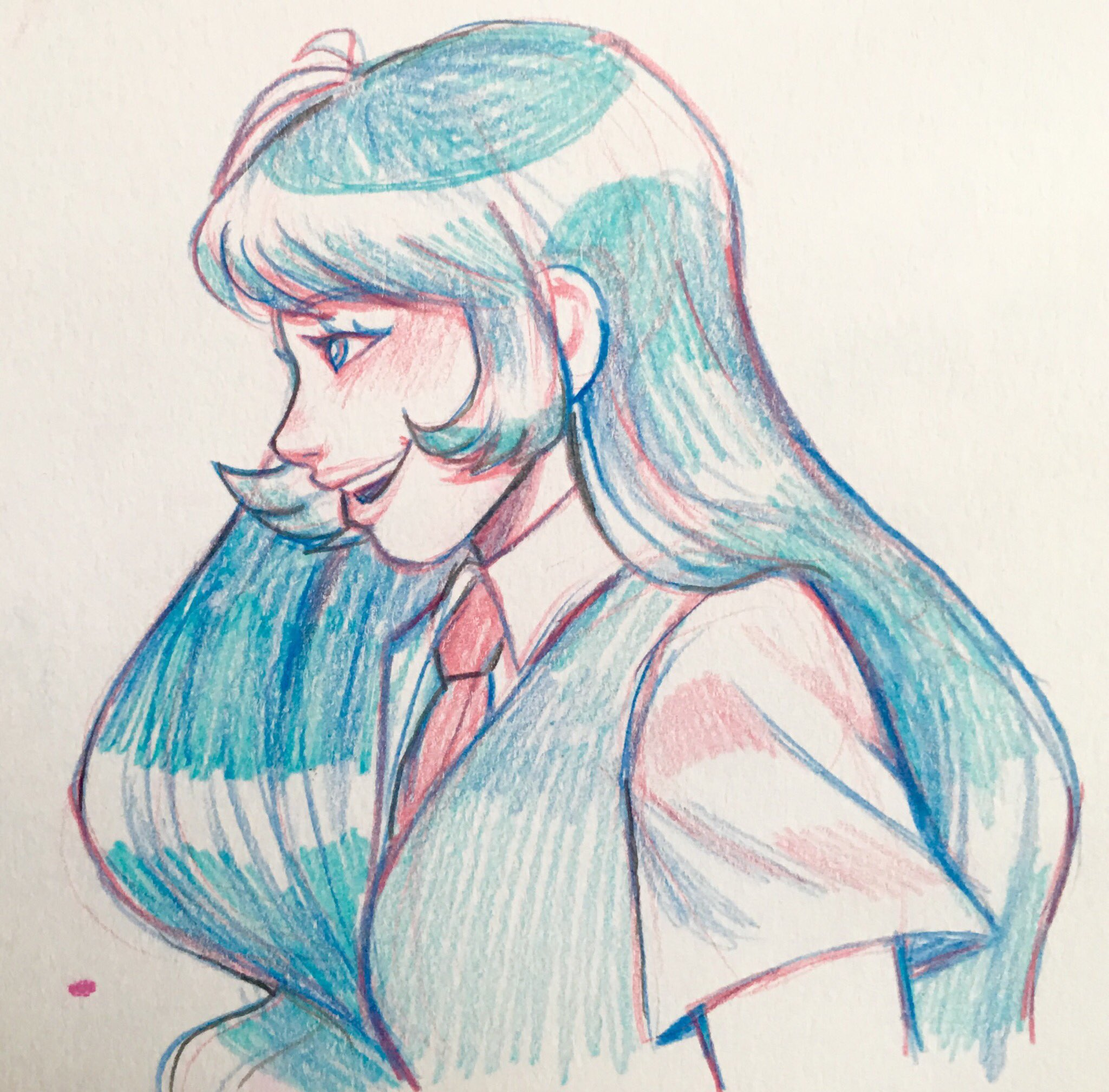 I keep forgetting to post this nejire I sketched the other day I kinda like how it turned out https://t.co/bNGgtmxU07