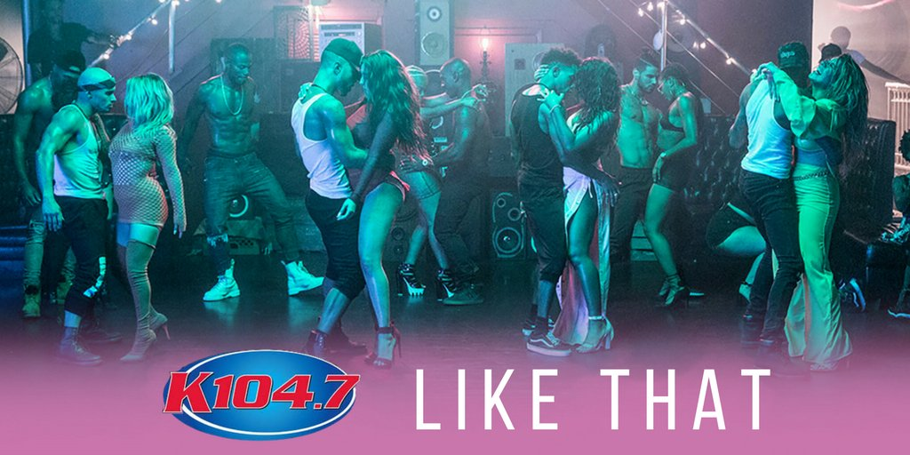 @K1047 can't thank y'all enough for the love! #HeLikeThat https://t.co/5NsyZtQHof