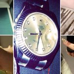 The haul of jewellery taken by a vicious gang who ripped oxygen mask from woman's face during raid
