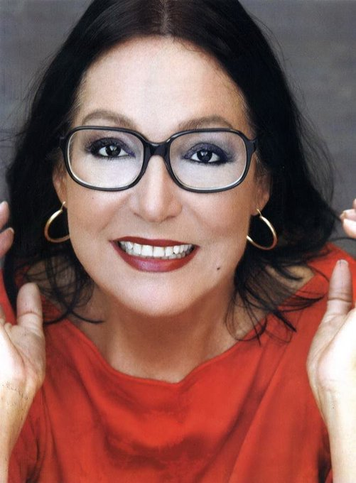 83 year Greek singer Nana Mouskouri. Happy Birthday.