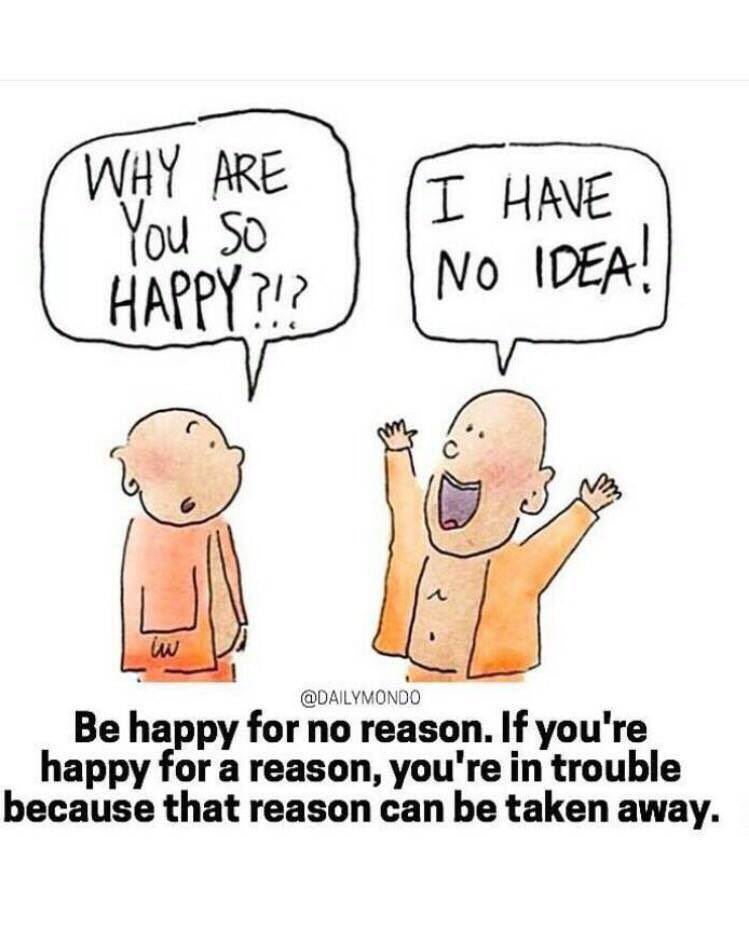 Often we list our reasons to be happy. But happiness is not a consequence of events; It can CAUSE our experience of events to be different.. https://t.co/gAQOukvDM7