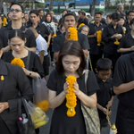 Thailand marks 1-year anniversary of King Bhumibol's death with prayers, ceremonies