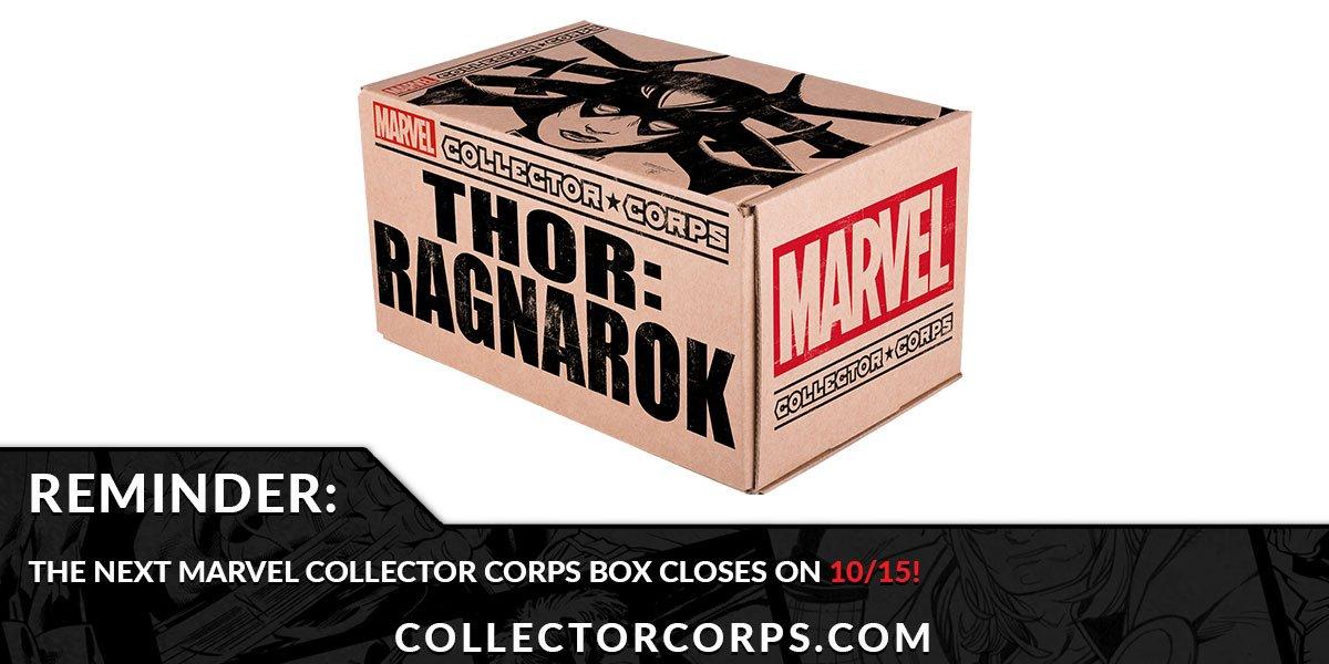 RT @OriginalFunko: RT & follow @OriginalFunko for your chance to WIN a Marvel Collector Corps #ThorRagnarok box! https://t.co/oAhmka49v8