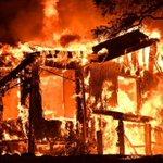 California wildfires: Winds fan 'catastrophic' blazes