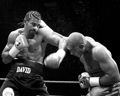 in 1980: English boxer, David Haye, is born in London. Happy Birthday