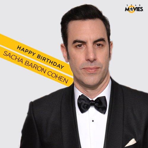 Happy birthday to the hilarious Sacha Baron Cohen!