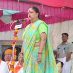Vasundhara Raje lashes out at Rahul Gandhi over remark on women in RSS