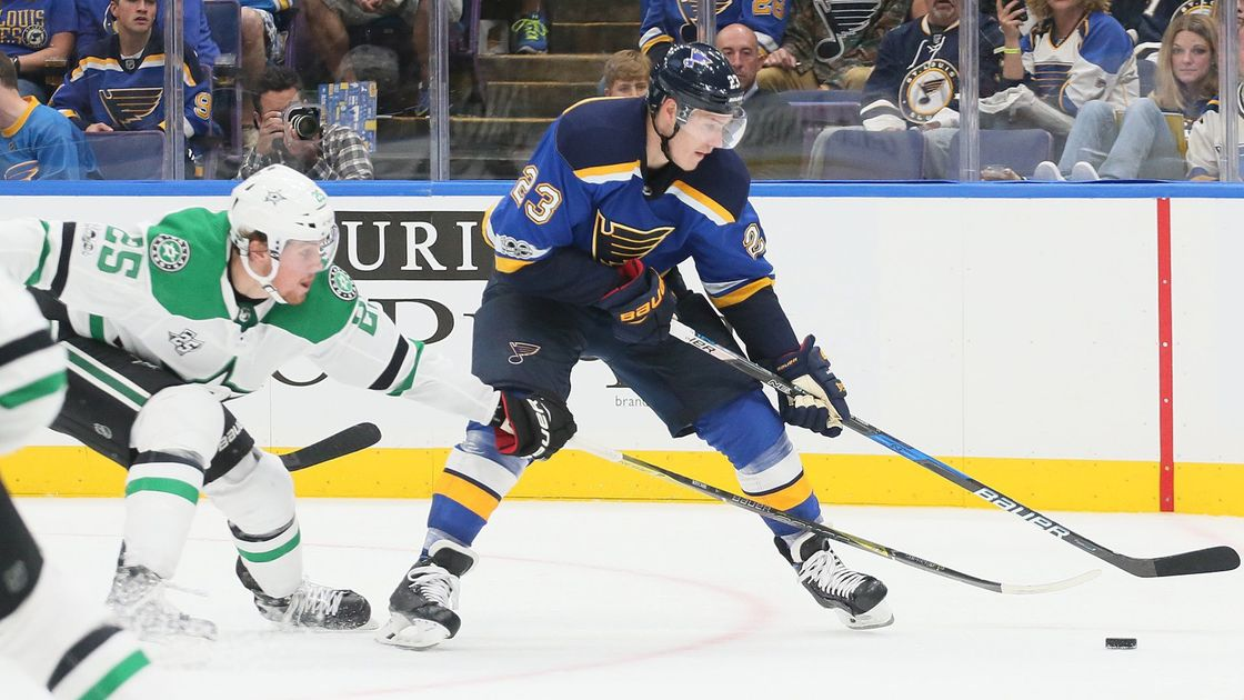 Blues win streak ends with a thud in 5-2 loss to Florida