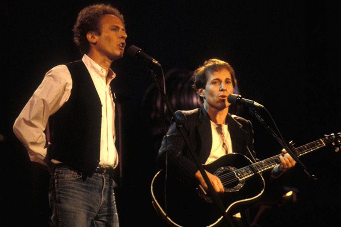 Happy Birthday to Paul Simon(right) who turns 76 today!