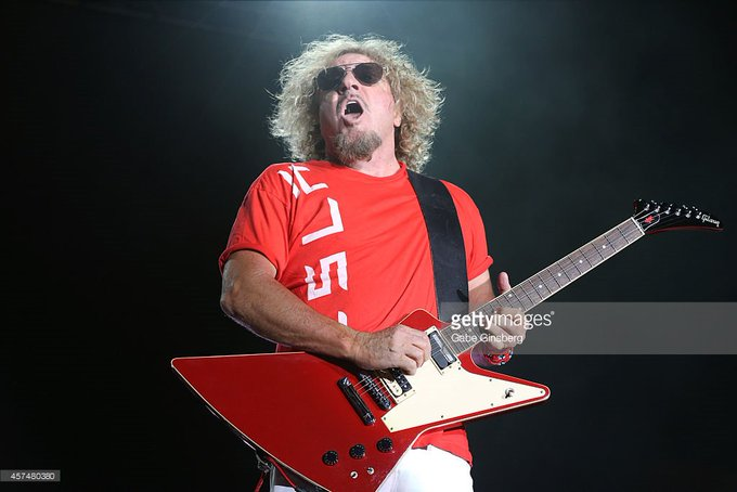Happy Birthday to Sammy Hagar who turns 70 today!