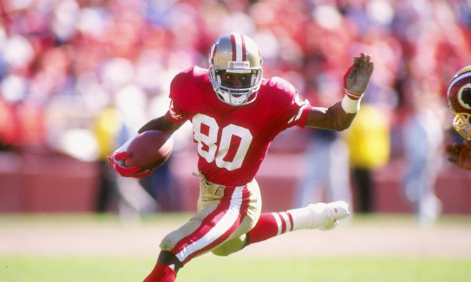 Happy Birthday to Jerry Rice who turns 55 today!