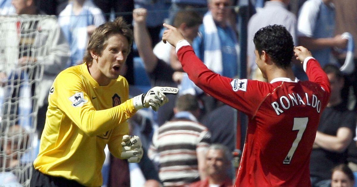 Manchester United hero Edwin van der Sar reveals secret behind Cristiano Ronaldo's free-kicks