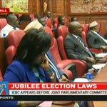 IEBC appears before Joint Parliamentary Committee