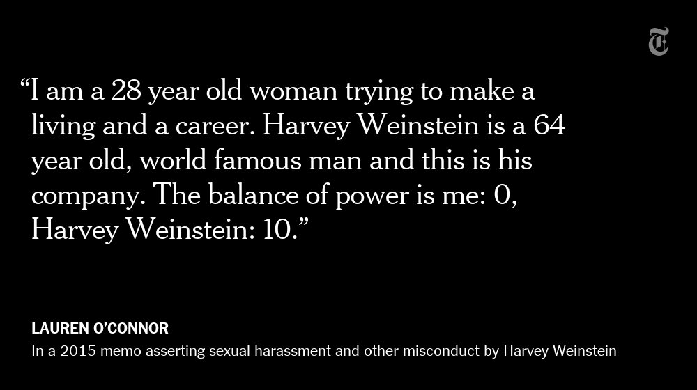 'There is a toxic environment for women' at the Weinstein Company, a female employee wrote https://t.co/6uIzoru4iU https://t.co/8YHroVXmu9