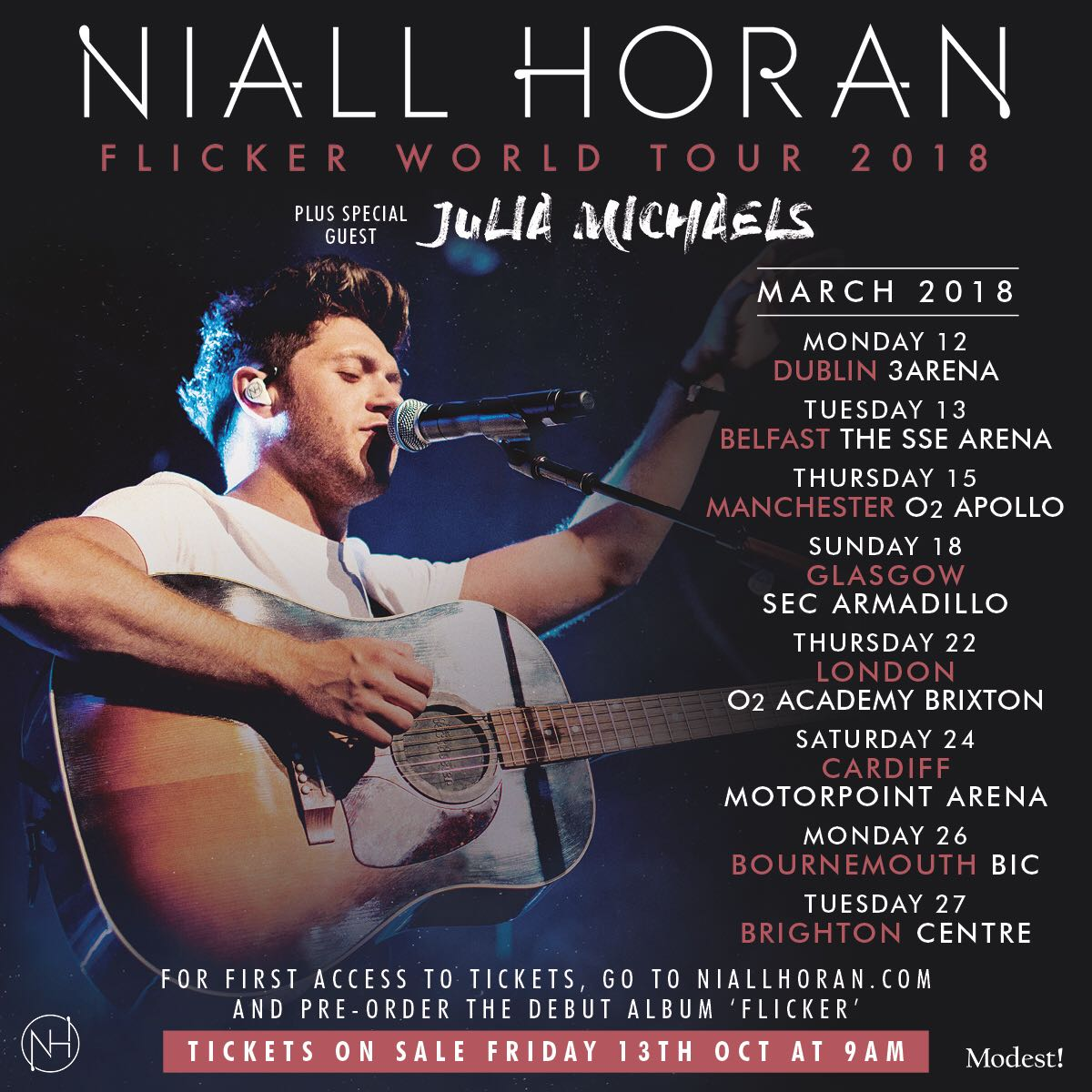 UK & Ireland, pre-order 'Flicker' from the official store to get pre-sale access ! https://t.co/tWzptqLLVa https://t.co/LXICOWvY7x