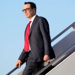 Seven Flights for $800,000: Mnuchin's Travel on Military Jets