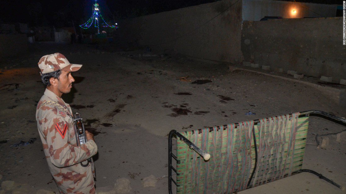 Suicide bomber kills 18 people at religious shrine in Pakistan