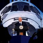 Pence promises U.S. will go to moon, Mars as talk also turns to keeping up with 'weaponization' of space