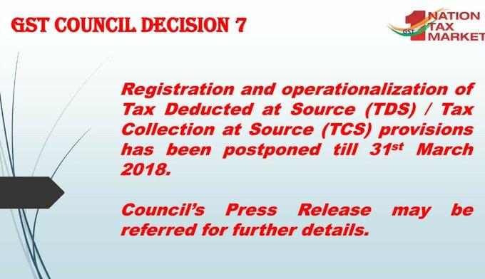 GST Council Decision 7