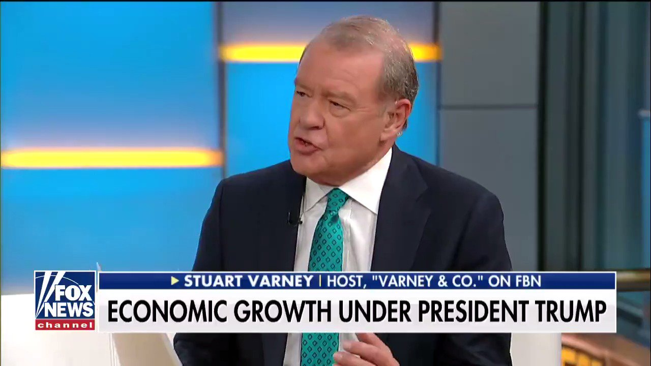 .@Varneyco: 'The election of @POTUS opened up the promise of growth in the economy.' https://t.co/QdcGO2ZJnG