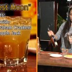 How To Mix A Harvest Moon - Pour This Fall Full Moon Cocktail