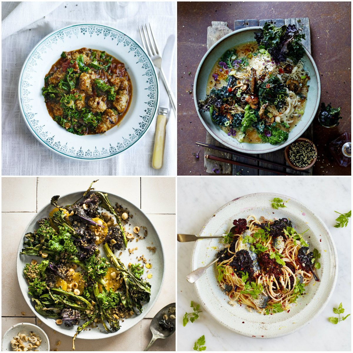 Kale's just come into season! ???? Here's 4 recipes to get started with... https://t.co/1b6eFVu1qu https://t.co/PytPODr7Gj