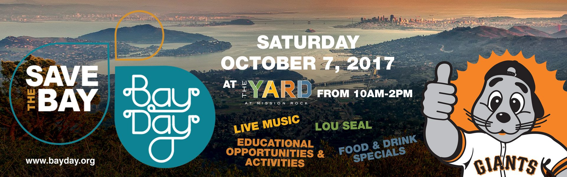 TOMORROW! Celebrate Bay Day 2017 at @TheYardSF  �� https://t.co/T95y61dRtL https://t.co/50kmqTVEU0