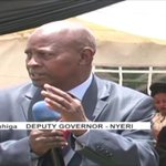 The grandson of the late Nyeri Governor, Nderitu Gachagua laid to rest