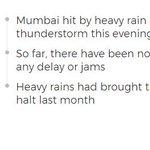 Heavy Rain, Thunderstorm Hit Mumbai, Sky Turns Dark At 4:30 PM
