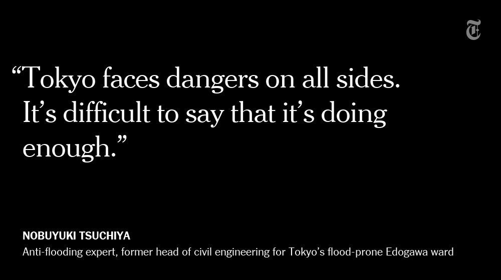 Tokyo is preparing for floods 'beyond anything we've seen' https://t.co/0LtZnDOZCD https://t.co/USgWJsz1Pp