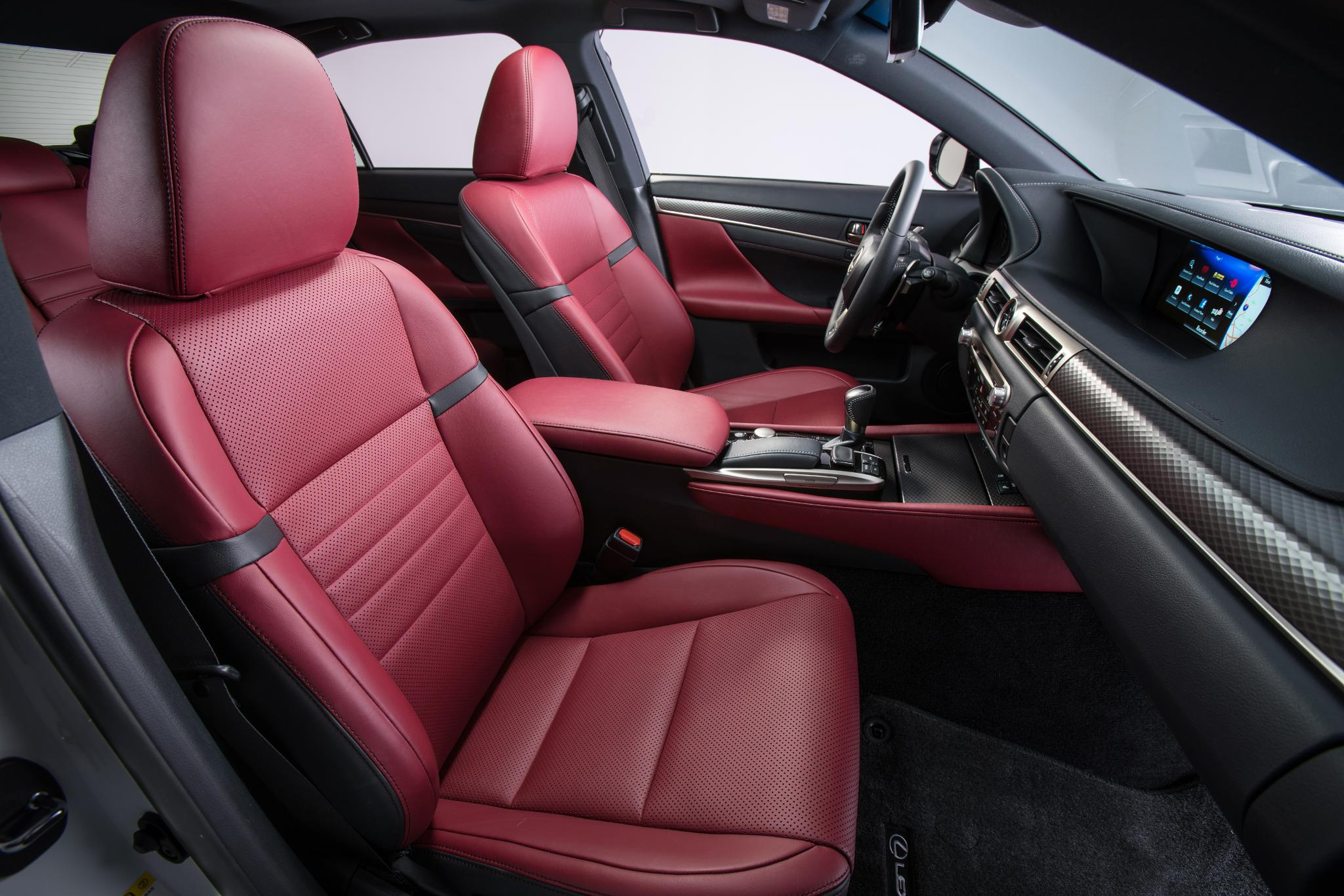 Red leather is in. #LexusGS 450h F SPORT https://t.co/zuMOfJE6U6