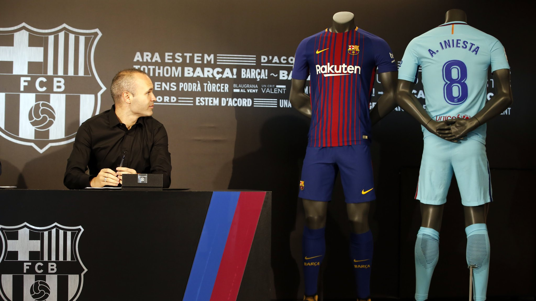 �� VIDEO ��  Inside view of Andrés Iniesta's lifetime deal �� #ForeverIniesta https://t.co/1SGZvn2AHv