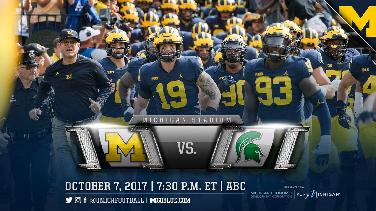test Twitter Media - RT @UMichFootball: GET UP, IT'S GAME DAY!!!!   Let's #BeatState!   #GoBlue 〽️🏈 https://t.co/tn9BZC3Cwf