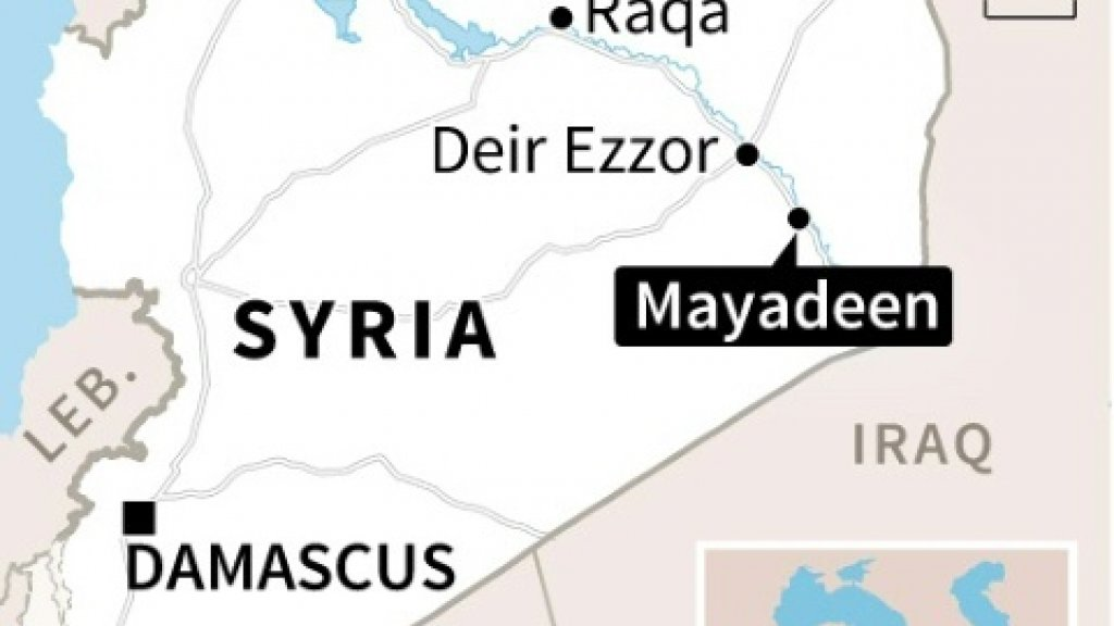 Syria regime enters IS-held town in 'severe blow' to IS