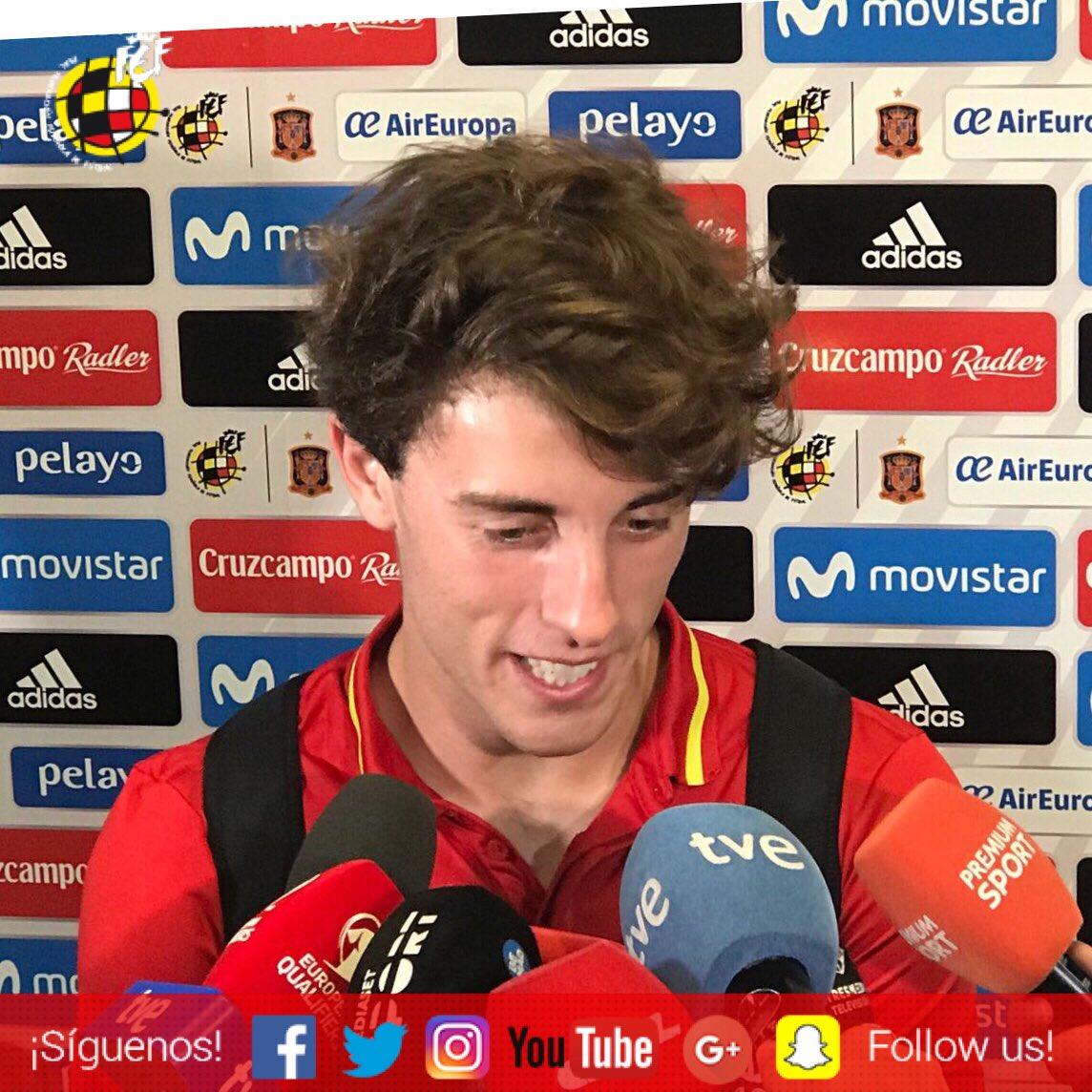 �� @alvaroodriozola: 'He cumplido un sueño al debutar' #SEFlive https://t.co/GASTamMEcL