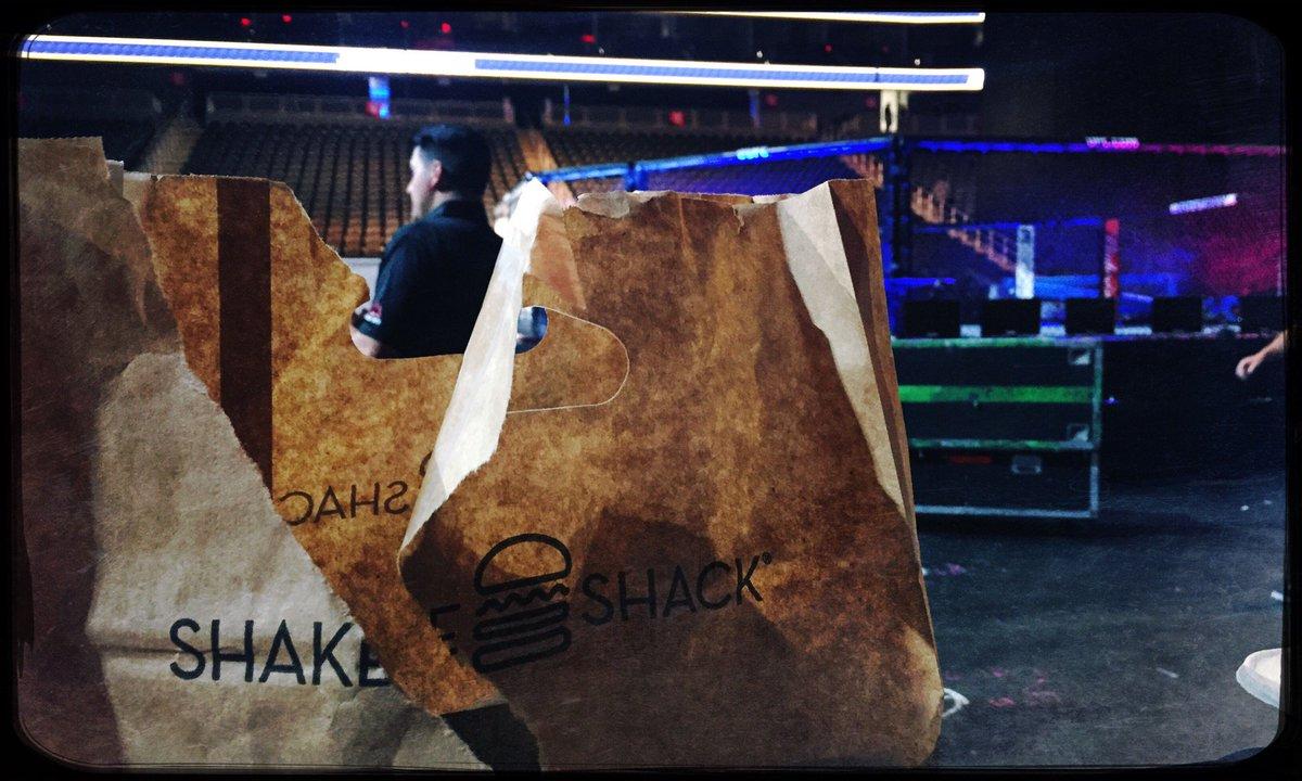 Winner combo: @ufc & @shakeshack
