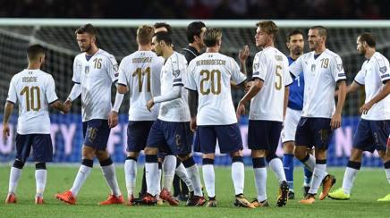 Russia 2018, Italia ai playoff se la Bosnia non batte il Belgio