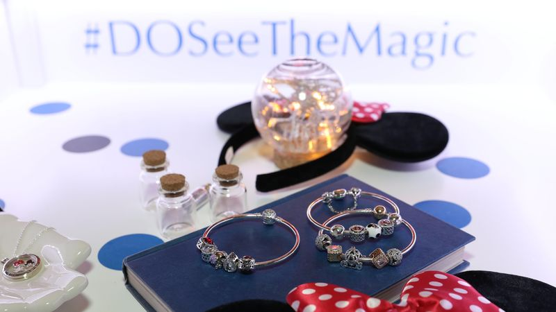 Disney + PANDORA = a match made in jewellery