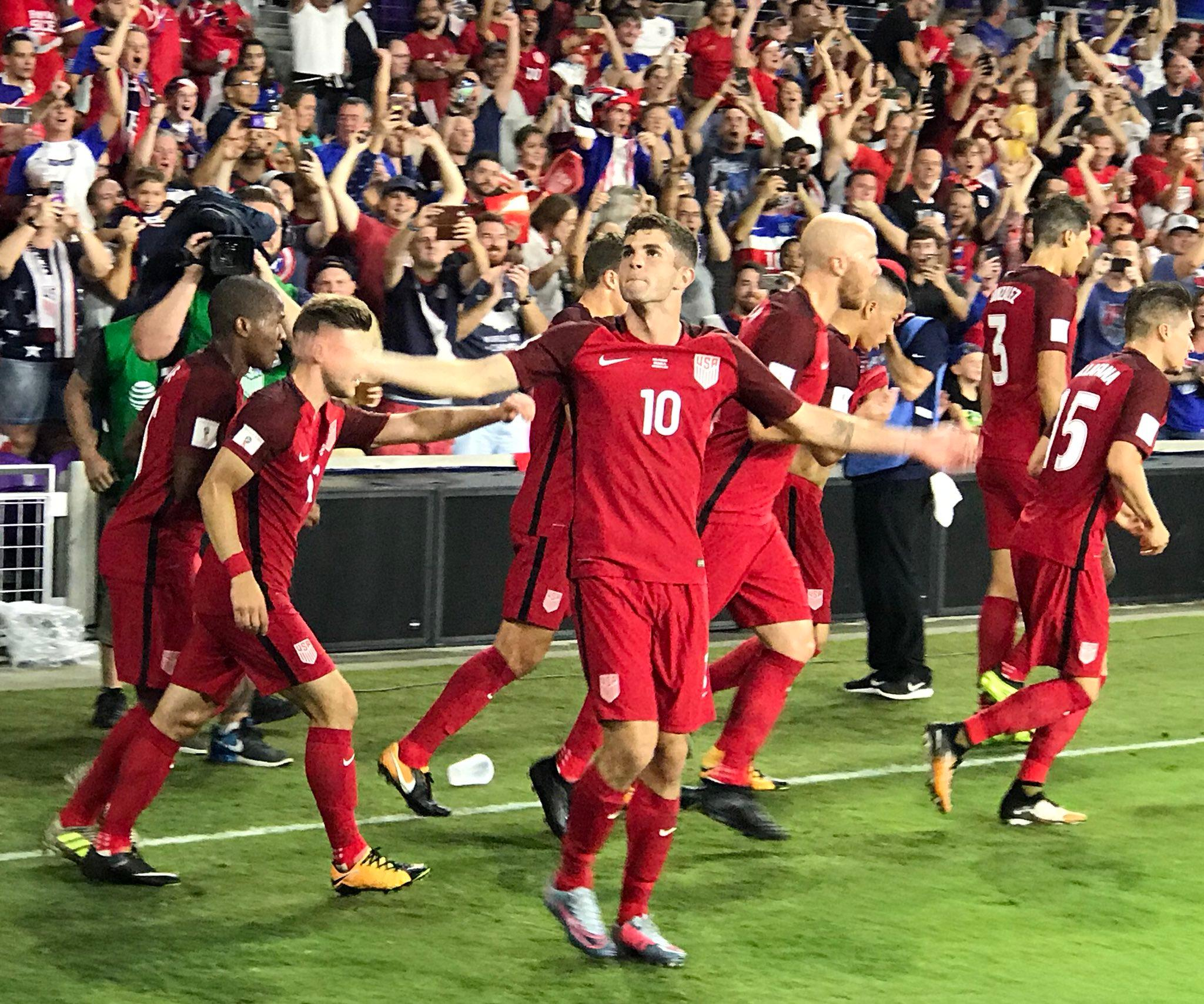 1 goal, 1 assist and 1 brilliant half from Christian Pulisic and the USMNT. (via @ESPNFC) https://t.co/n7EWQnow1r
