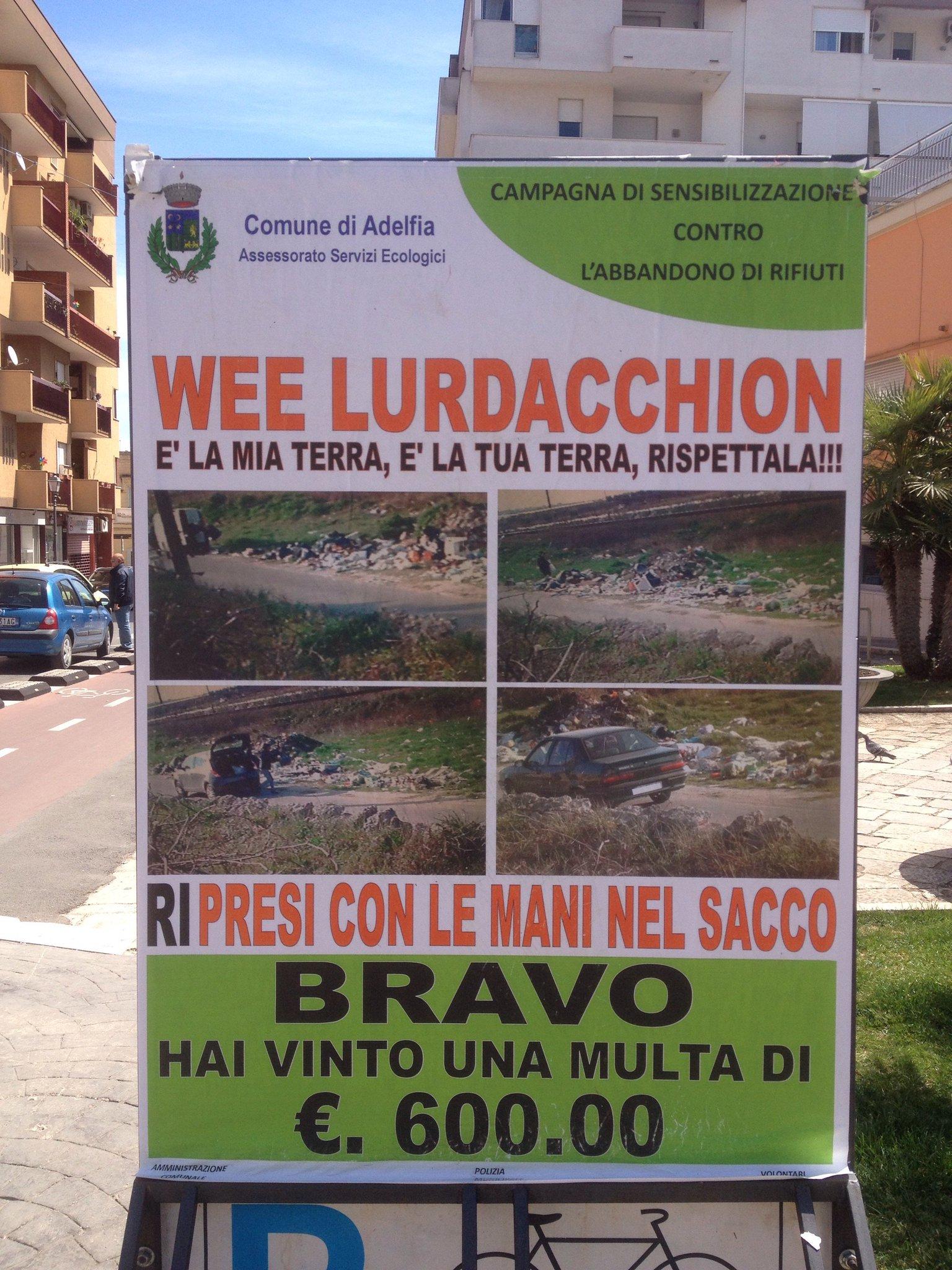 Ad Adelfia (#Bari) non scherzano per niente https://t.co/A8uExMWMin