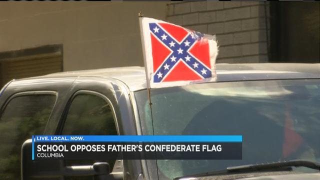 Dad removes kids from private school over Confederate flag dispu - | WBTV Charlotte