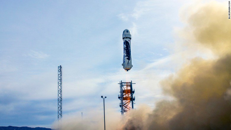 A Blue Origin rocket could take tourists to space by April 2019 https://t.co/U7uYtAlncg https://t.co/CeKQVAzXtZ