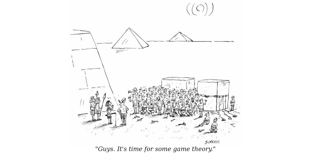 """""""Guys. It's time for some game theory."""" #gametheory https://t.co/65k3Mf4CdR"""
