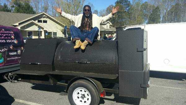 BBQ activism without the BBQ? Thieves steal the grill of the Baltimore pitmaster